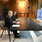 Innenminister Nehammer und Bundeskanzler Kurz verurteilen Attentat in Wien