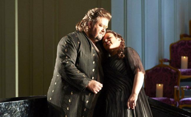 Johan Botha und Soile Isokoski in der Oper Ariadne von Naxos an der Wiener Staatsoper