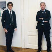 Günther Gast und Dietmar Czernich gehen gegen Schulschließungen vor