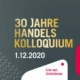 Handelskolloquium feiert 30-jähriges Jubiläum Flyer