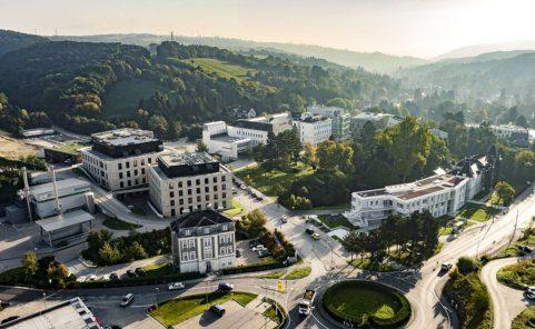 IST Austria Campus in Klosterneuburg bei Wien
