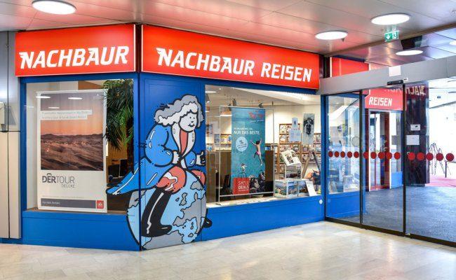 Die Nachbaur Reisen-Zentrale in Feldkirch