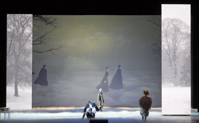 Szene aus der Oper Orlando an der Wiener Staatsoper als Streaming
