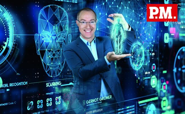 Gernot Grömer ist das Gesicht der aktuellen P.M. Wissen-Kampagne von ServusTV