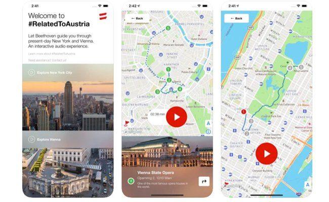 App #RelatedToAustria von Österreich Werbung gewann bei de Lovie Awards 2020 Bronze