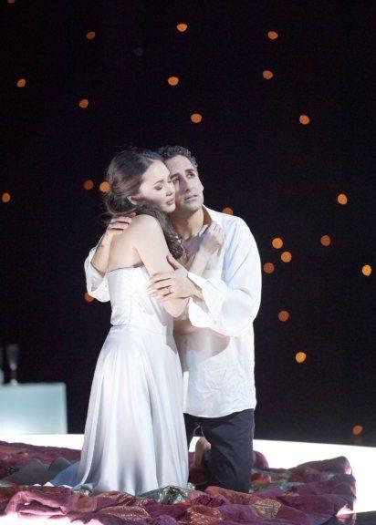 Aida Garifullina und Juan Diego Flórez in der Oper Romeo et Juliete an der Wiener Staatsoper