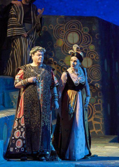 Waltraud Meier und Herwig Pecoraroin der Oper Salome