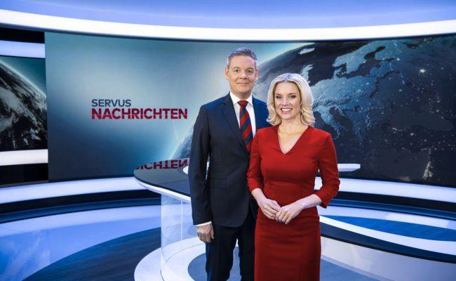 ServusTV zeigt Nachrichten aus Österreich und der Welt