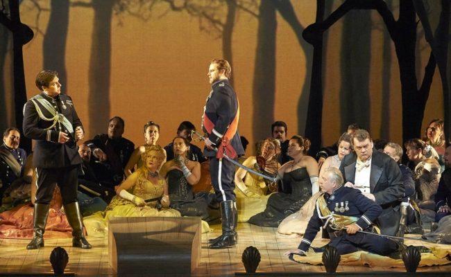 Szene aus der Oper The Tempest an der Wiener Staatsoper