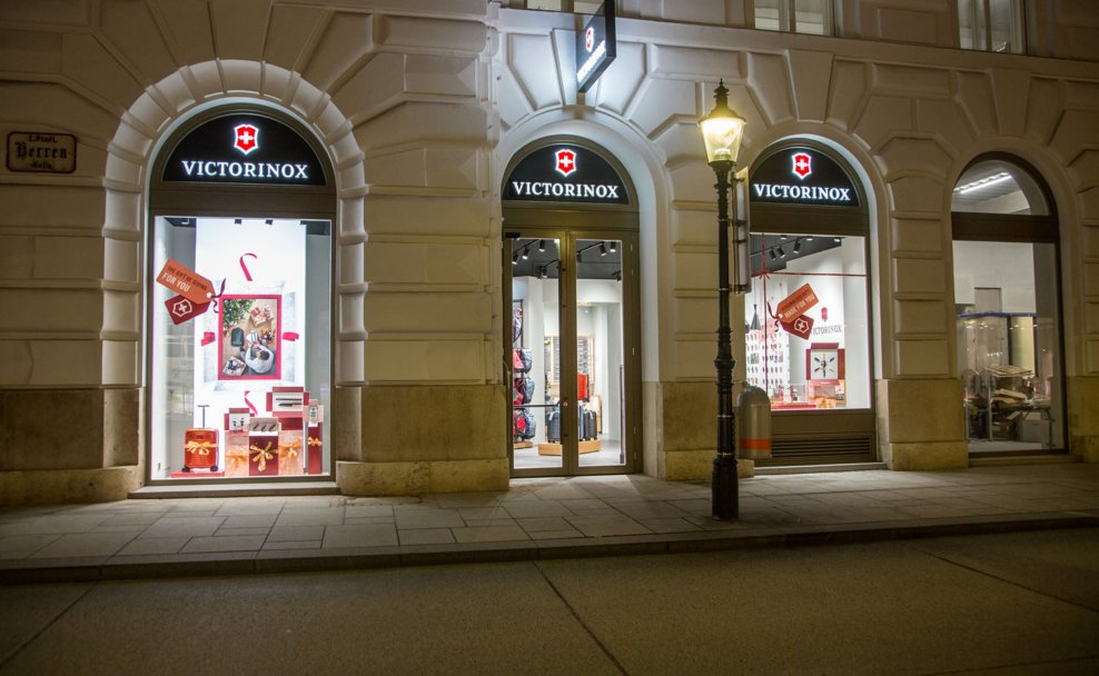 Victorinox eröffnet ersten Brand Store in Wien