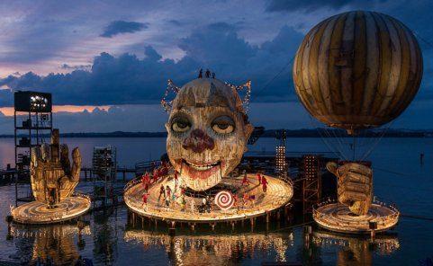 Bregenzer Festspiele 2021 mit Rigoletto auf der Seebühne