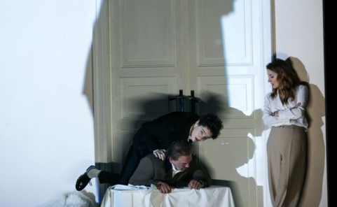 "Szene aus ""Le Nozze di Figaro"" im Theater an der Wien"