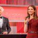 Klaus Eberhartinger und Kristina Inhof führen durch das Dancing Stars Finale