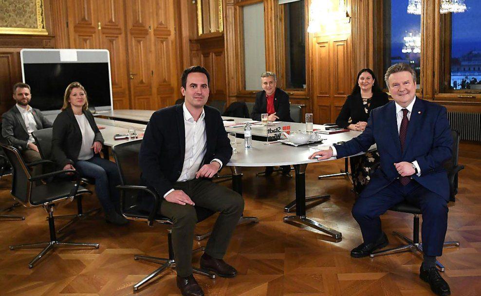 SPÖ und Neos haben sich auf Koalition in Wien geeinigt