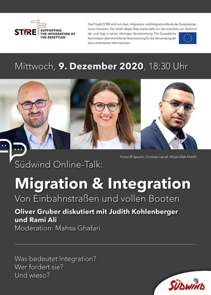 Südwind Online-Talk: Migration & Integration