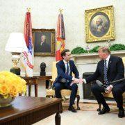 Donald Trump vor Sebastian Kurz in Berichten österreichischer Tageszeitungen