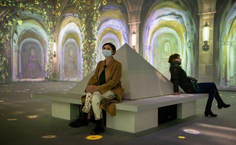 Van Gogh Ausstellung in der ehemaligen Tabakfabrik in Linz