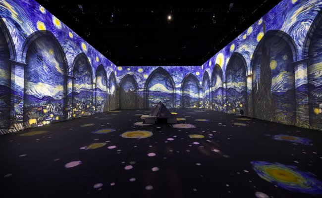 """Van Gogh -The Immersive Experience"" in der ehemaligen Tabakfabrik in Linz"