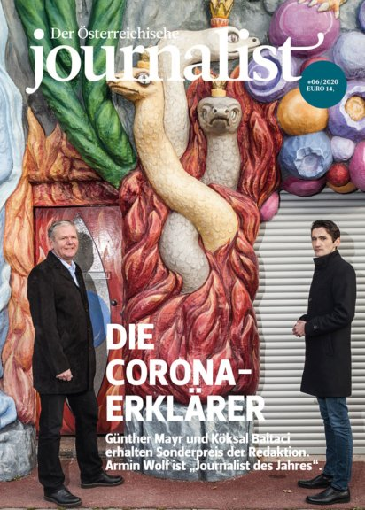 """Branchenmagazin """"Der Österreichische Journalist"""" – Ausgabe 6/2020"""