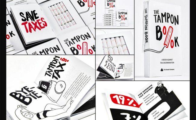 "ADCE Grand Prix für ""The Tampon Book: A Book Against Tax Discrimination"""