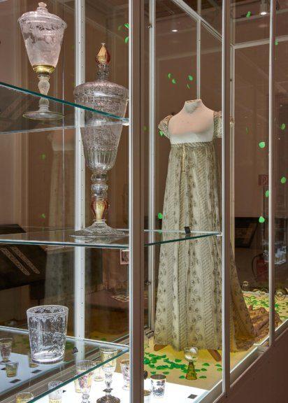 Brautkleid von Caroline Freifrau von Holzhausen, Wien, 1793