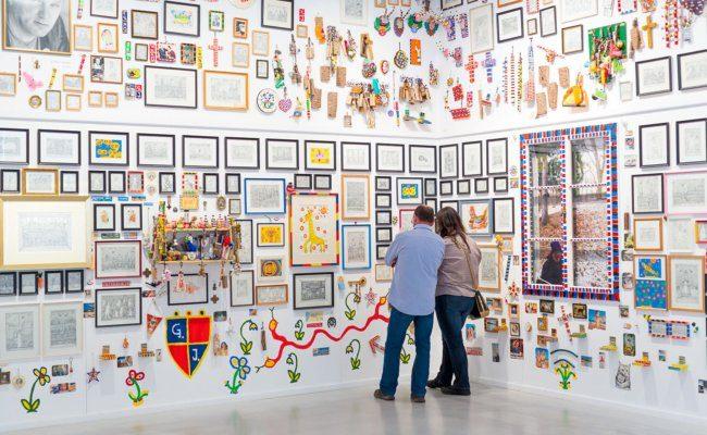 Museum Gugging, Salon Garber - Privatstiftung – Künstler aus Gugging