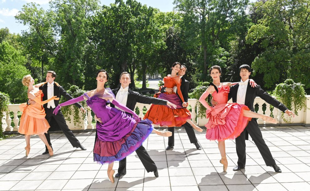 Balletteinlagen vom Wiener Staatsballett beim Neujahrskonzert der Wiener Philharmoniker 2021