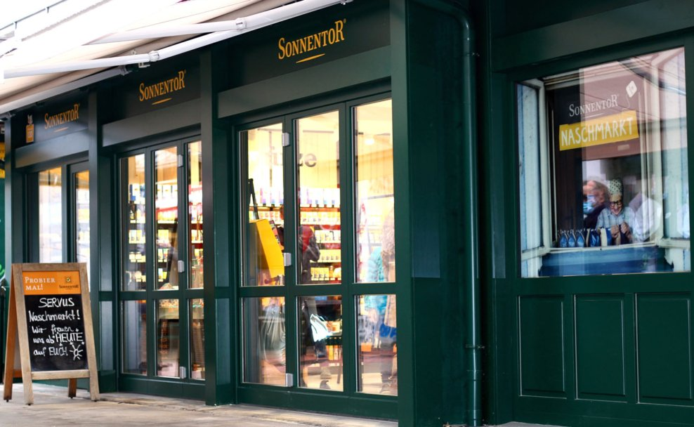 Sonnentor Geschäft am Naschmarkt ist nun offiziell eröffnet