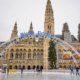 Der Wiener Eistraum hat am 24. Dezember eröffnet