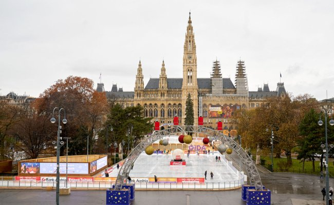 1200 Menschen sind gleichzeitig am Wiener Eistraum zugelassen
