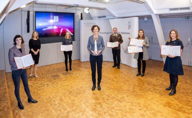 Österreichischer Staatspreis PR 2020 von PRVA und BMWD