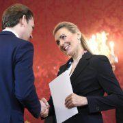 Bundeskanzler Kurz will am Montag Aschbachers Nachfolger präsentieren