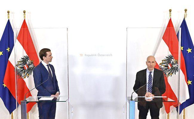 Kanzler Kurz hat IHS-Chef Kocher als neuen Arbeitsminister vorgestellt