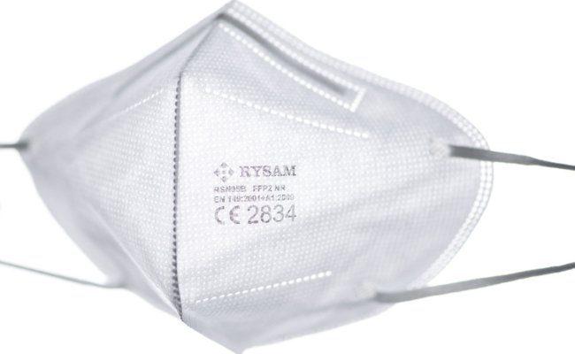 Eine Atemschutzmaske der Kategorie FFP2
