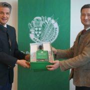 Ballobmann Stefan Jauk und NÖ Bauernbunddirektor Paul Nemecek