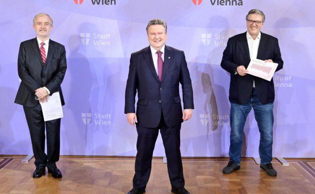 Covid-19-Impfstrategie der Stadt Wien im Rathaus präsentiert