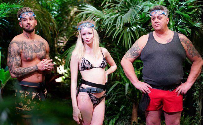 Mike Heiter, Zoe Saip und Frank Fussbroich sind auf ihre erste Dschungelprüfung gespannt