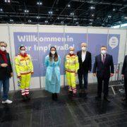 Start für Massenimpfung in Wien