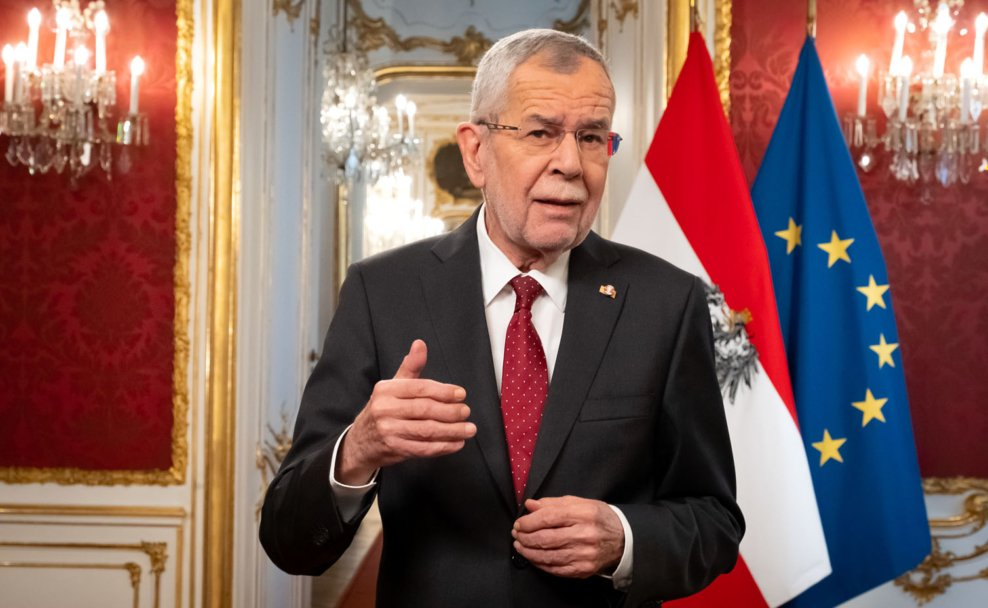 Neujahrsansprache des Bundespräsidenten Alexander van der Bellen